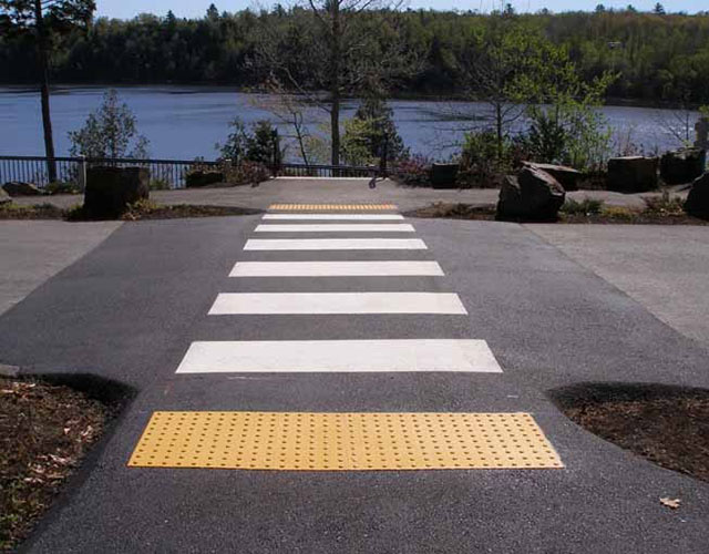 Products - Detectible Warning Pavers - Merkley Supply Ltd - Ottawa Ontario